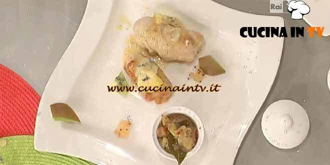 La Prova del Cuoco - Involtini ripieni e composta di kiwi piccanti ricetta Barzetti