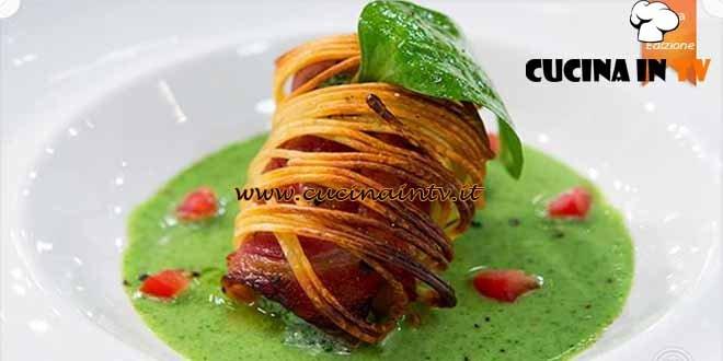 Masterchef 4 - ricetta Involtino di spaghetti di Valentina
