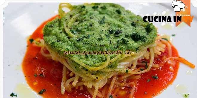 Masterchef 4 - ricetta Lasagna di spaghetti di Giuseppe