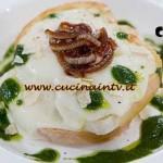 Masterchef 4 - ricetta Lasagne di pane con besciamella alle cipolle borettane di Amelia