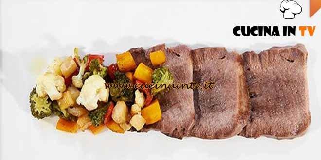Masterchef 4 - ricetta Lingua di manzo con giardiniera alla senape di Federica
