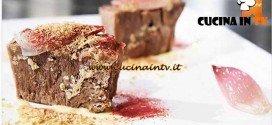 Masterchef 4 - ricetta Lingua di manzo con salsa di limone lampone disidratato e foie gras di Mariella Magenes e Dario Guidi