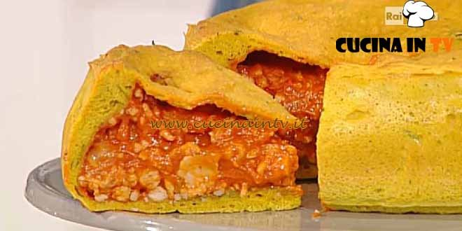La Prova del Cuoco - Meat pie ricetta Mainardi