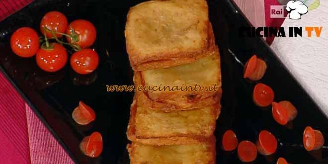 La Prova del Cuoco - Mozzarella in carrozza ricetta Moroni