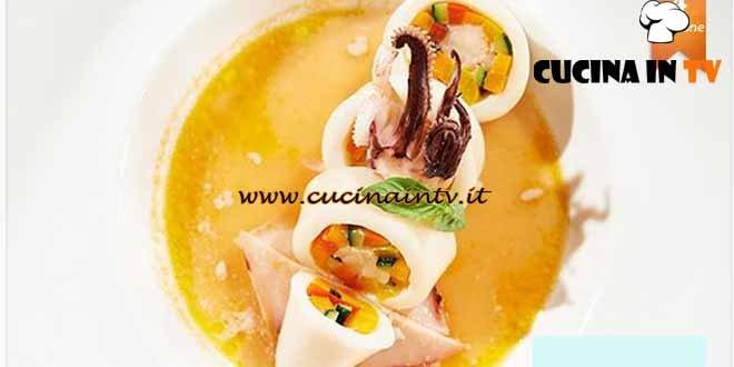 Masterchef 4 - ricetta Orto e calamaro di Stefano