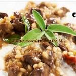 Masterchef 4 - ricetta Orzotto con germano reale salsa di squacquerone e macis di Bruno Barbieri