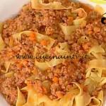 La Prova del Cuoco - Pappardelle al ragù di cinghiale ricetta Spisni