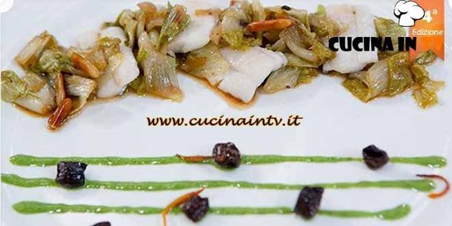 Masterchef 4 - ricetta Pesce spatola con profumo di acqua di pomodoro di Arianna