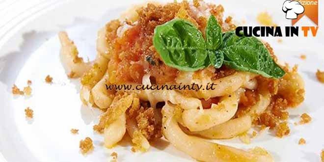 Masterchef 4 - ricetta Pici all'aglione con briciole croccanti di Arianna