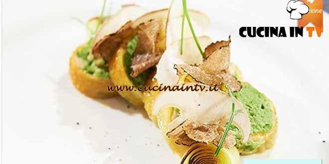 Masterchef 4 - ricetta Pollo clorofilla e verdure di Lorenzo Cogo