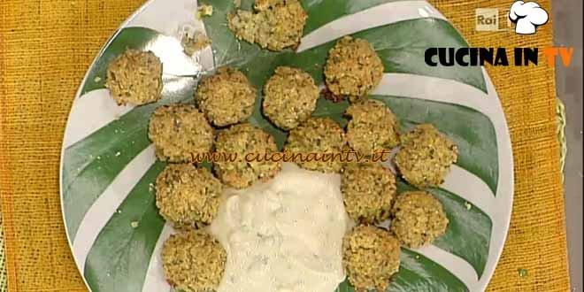 La Prova del Cuoco - Polpette croccanti di quinoa con salsa tzatziki vegana ricetta Bianchi