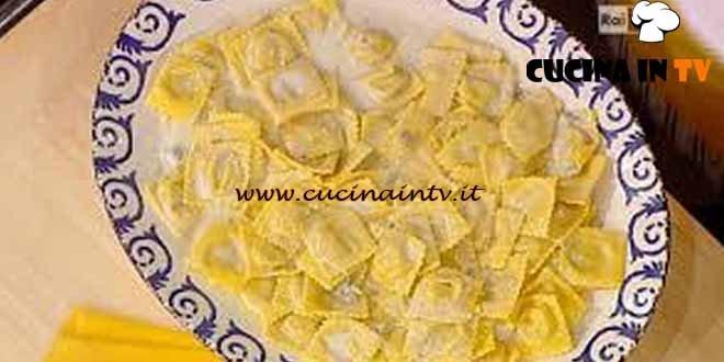 La Prova del Cuoco - Ravioli di patate e mortadella ricetta Spisni