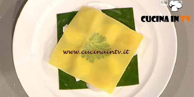 La Prova del Cuoco - Raviolo aperto ricetta Marchesi