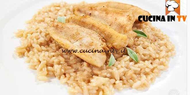 Masterchef 4 - ricetta Risotto al Branzi con pesce persico di Maria