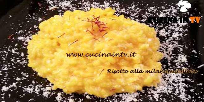 Cotto e mangiato - Risotto alla milanese stellato ricetta Tessa Gelisio