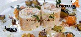Masterchef 4 - ricetta Rollè di tacchino in porchetta con battuto di pomodoro melanzane alla menta e pecorino di Bruno Barbieri