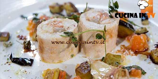 rollè di tacchino in porchetta con battuto di pomodoro melanzane ... - Come Cucinare Il Rollè Di Tacchino