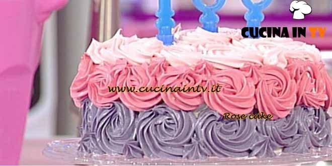 Dolci dopo il tiggì - ricetta Rose cake