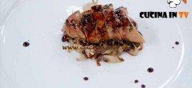Masterchef 4 - ricetta Scaloppa brasata di Federica