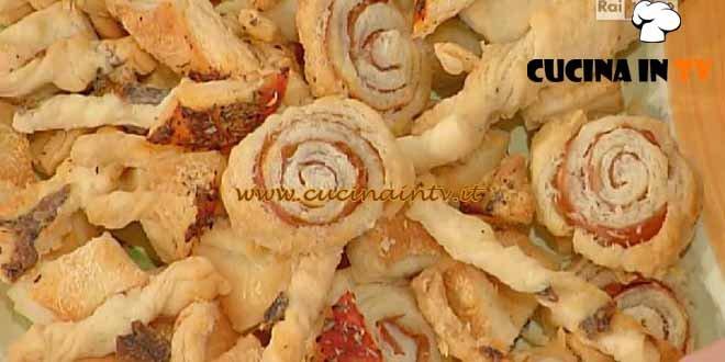 La Prova del Cuoco - Sfogliatine assortite ricetta Spisni