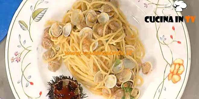 La Prova del Cuoco - Spaghetti ai ricci di mare e lupini ricetta Pascucci