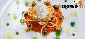 Masterchef 4 - ricetta Spaghetti new look di Federica