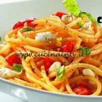 Masterchef 4 - ricetta Spaghetti scanalati alla Partenopea