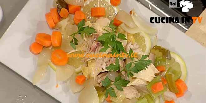 La Prova del Cuoco - Stracciatella con insalata di lesso ricetta Bottega