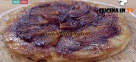 Molto Bene - ricetta Tarte tatin con cipolle rosse