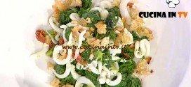 La Prova del Cuoco - ricetta Tagliatella di calamaro ajo ojo e broccoletti