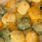 La Prova del Cuoco - Terrina di gnocchi colorati con salsa ai formaggi ricetta Cattelani