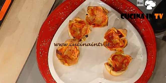 La Prova del Cuoco - Timballini di lasagna alla ricotta ricetta Moroni