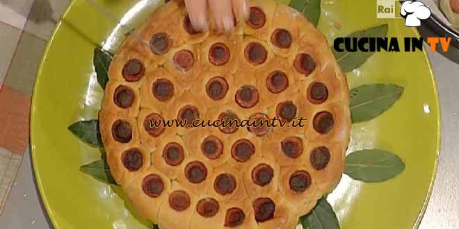 La Prova del Cuoco - Torta di wurstel ricetta Moroni