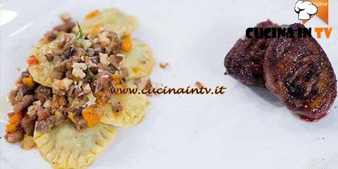 Masterchef 4 - ricetta Tortelli ripieni con ragù di salsiccia e petto di beccaccia di Nicolò
