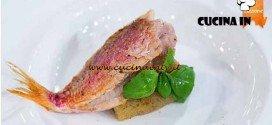 Masterchef 4 - ricetta Triglia su melanzana in guazzetto di mozzarella affumicata di Simone
