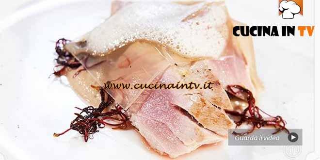 Masterchef 4 - ricetta Ventresca di tonno al tè lapsang di Stefano