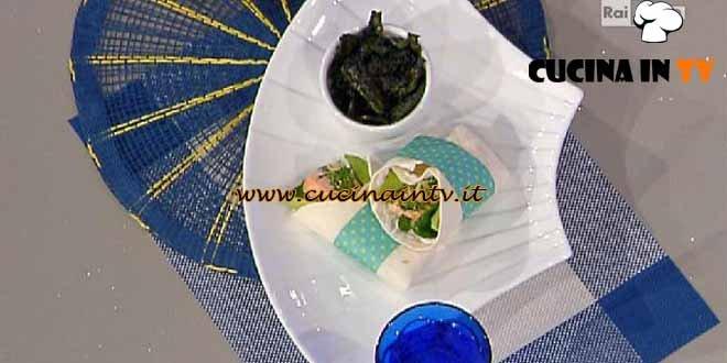 La Prova del Cuoco - Wrap al Salmone con Chips di Cavolo Nero ricetta Swain