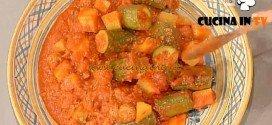 La Prova del Cuoco - Zucchine ripiene di carne con patate in umido ricetta Moroni