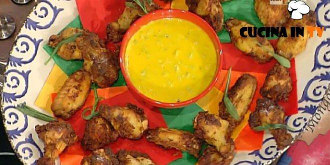 La Prova del Cuoco - Ali di pollo fritte piccanti ricetta Mainardi