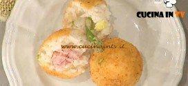 La Prova del Cuoco - Arancini di risotto agli asparagi con cuore filante ricetta Barzetti
