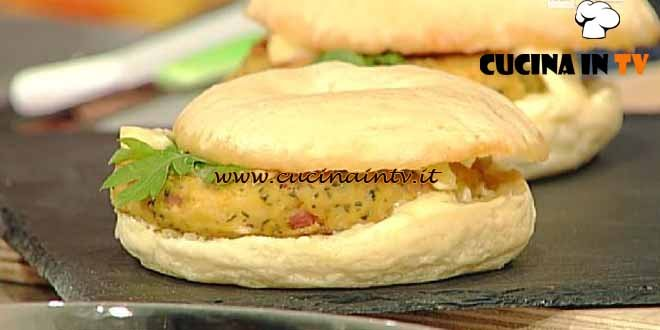La Prova del Cuoco - Bagel con burger di ceci ricetta Mainardi