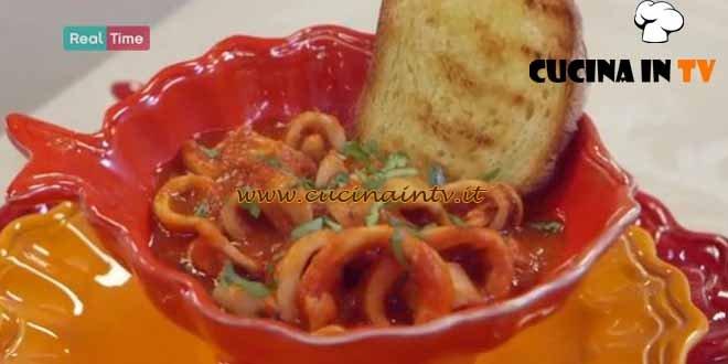 Molto Bene - ricetta Calamari in guazzetto di Benedetta Parodi