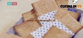 Molto Bene - ricetta Crackers al miele di Benedetta Parodi