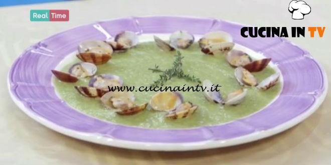 Crema Di Zucchine Con Vongole Sautè Ricetta Benedetta Parodi Da
