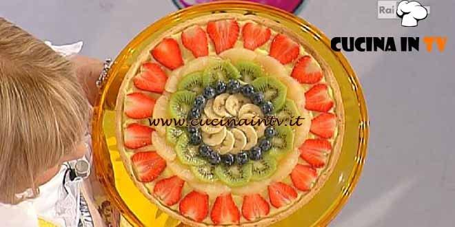 Dolci dopo il Tiggì - ricetta Crostata di frutta