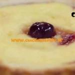 Molto Bene - ricetta Crostatine alla panna con amarene di Benedetta Parodi