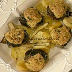 La Prova del Cuoco - Carciofi ripieni ricetta Messeri