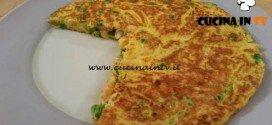 Cotto e mangiato - Frittata trota piselli e brie ricetta Tessa Gelisio