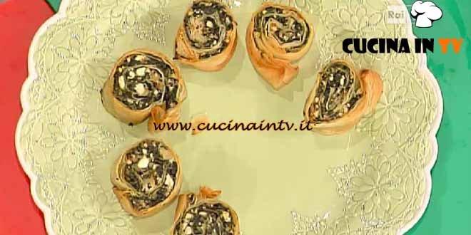 La Prova del Cuoco - Girandoline con feta e spinaci ricetta Moroni