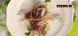 La Prova del Cuoco - ricetta Involtino di radicchio vitello e riso adagiato con verdure e salsa di yogurt